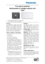 Panasonic 3364 addressable