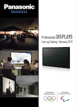 Panasonic Pro Display Catalog