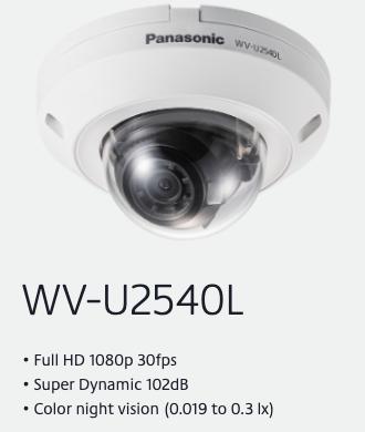 WV-U2540L